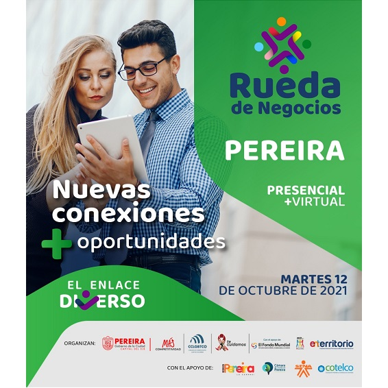Martes 12 de octubre es la rueda de negocios para población LGBTI