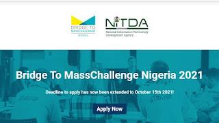 NITDA: Apply For NITDA Bridge TO MassChallenge Nigeria