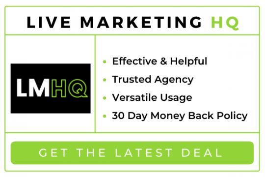 Live Marketing HQ Reviews 2021: Scam or Legit Marketing Program?