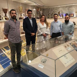 Επίσκεψη Κυπριακής Ομοσπονδίας Καλαθοσφαίρισης στο μουσείο του ΑΠΟΕΛ