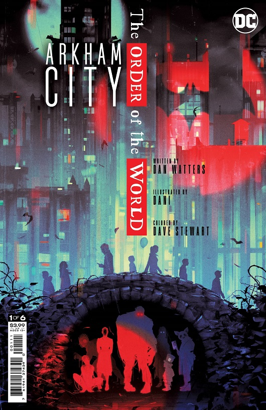 Arkham City: The Order of the World #1