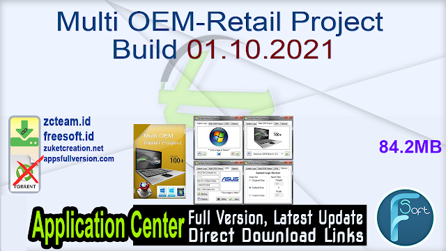 Multi OEM-Retail Project Build 01.10.2021