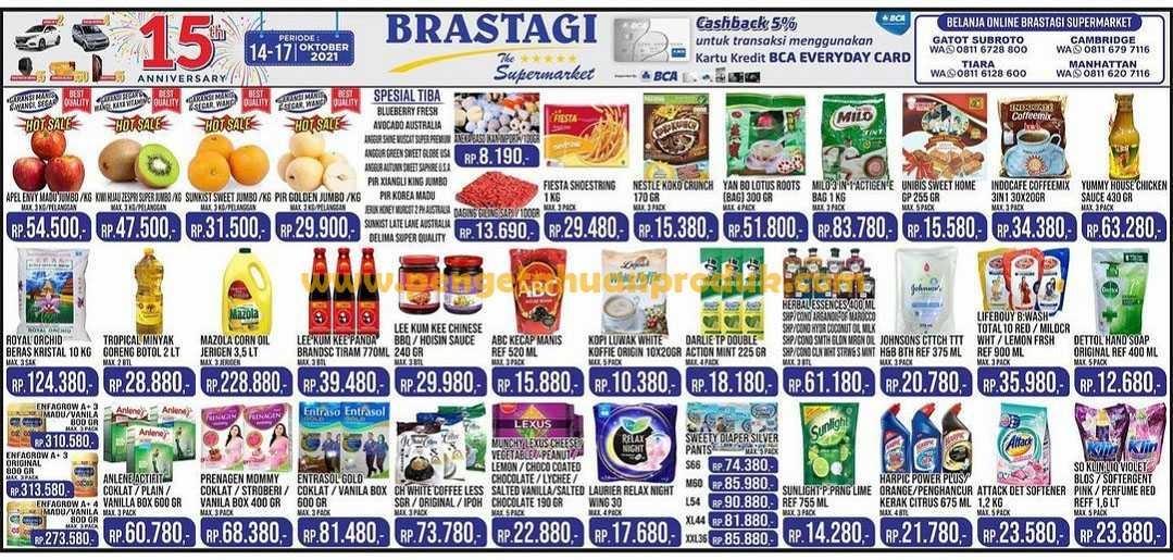 Katalog Promo Brastagi Supermarket Periode 14 - 17 Oktober 2021