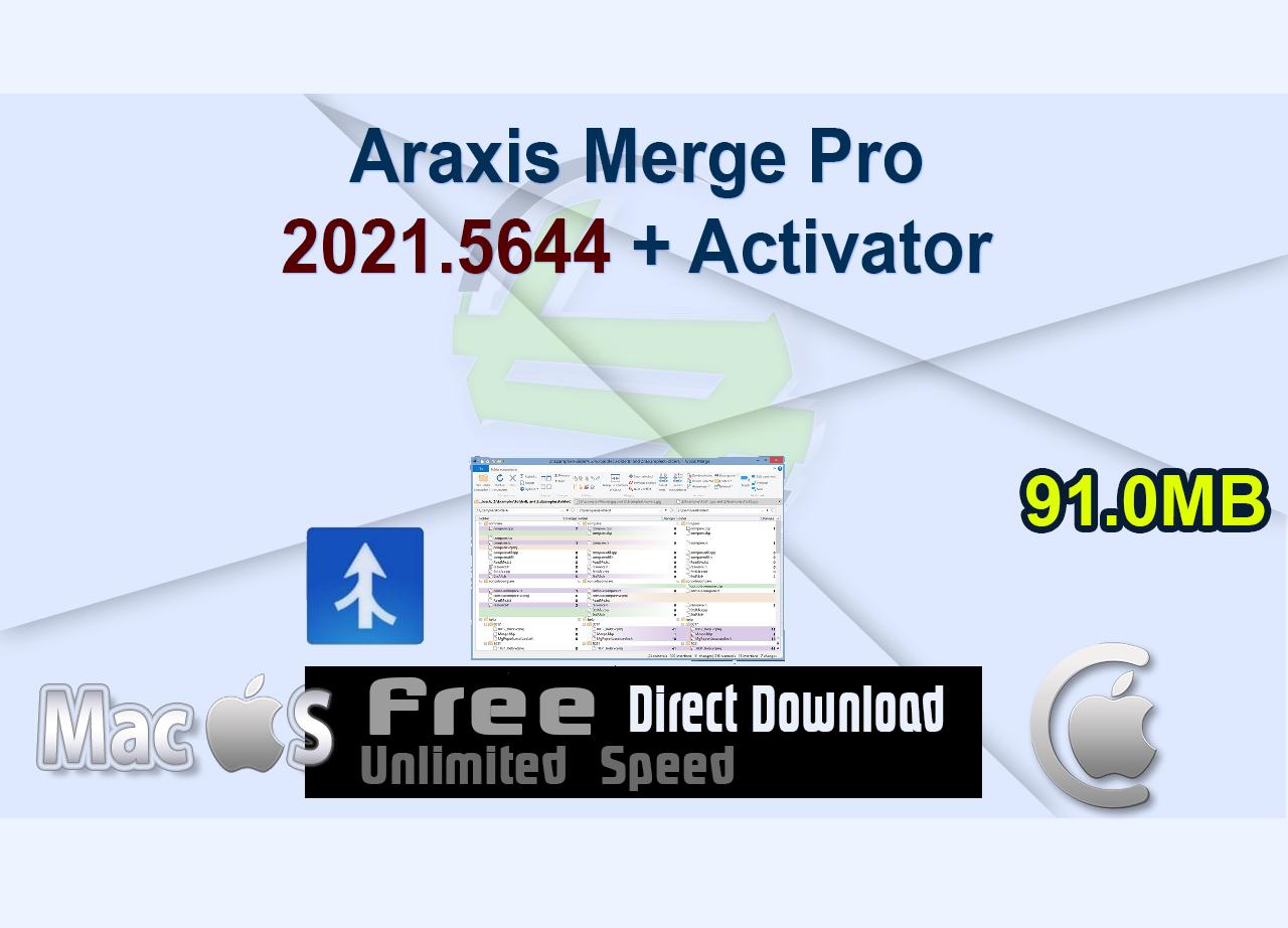 Araxis Merge Pro 2021.5644 + Activator _CenterMac