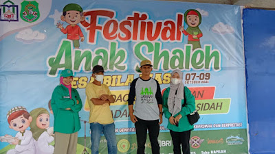 Mahasiswa KPM IAIN dan Desa Bila Riase Gelar Festival Anak Sholeh dengan Penerapan Protokol Kesehatan