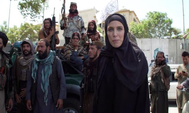مراسلة CNNArabic كلاريسا وارد مقاتلو طالبان Taliban Clarissa Ward