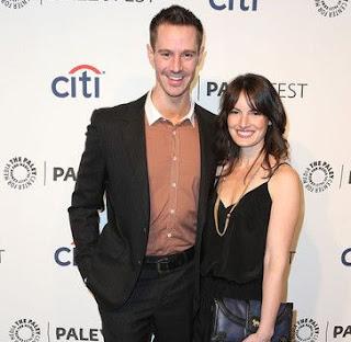 Lauren Kutner with her husband Jason Dohring