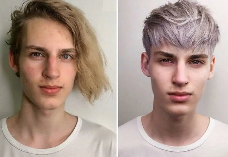 Changes in appearance beyond recognition