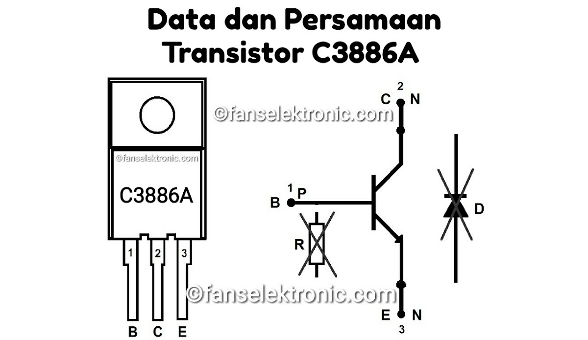 Persamaan Transistor C3886A