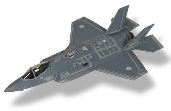 aviones de combate F-35A Lightning II