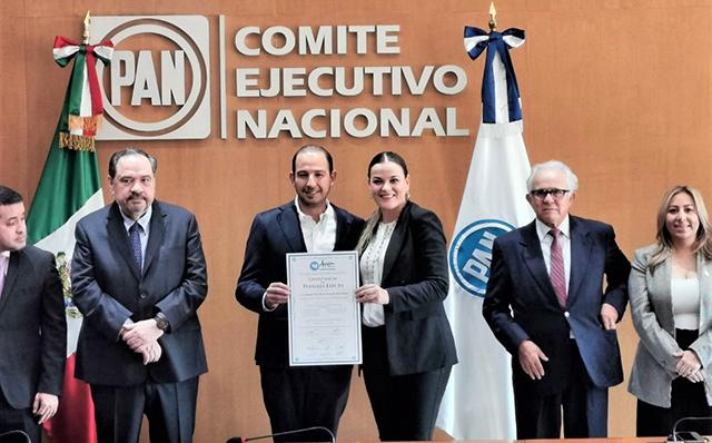 Toma posesión Cecilia Patrón como secretaria general del CEN del PAN