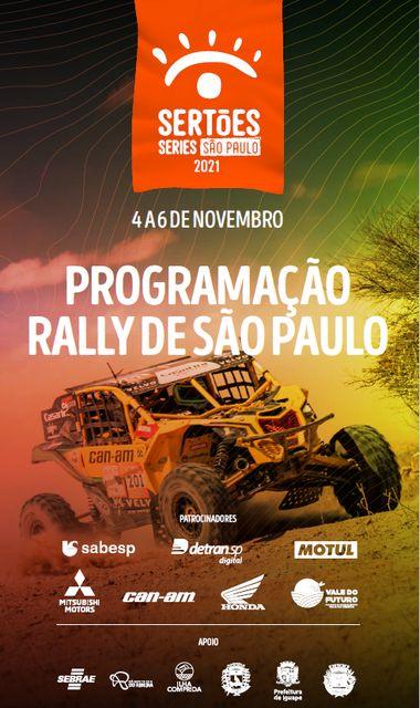 Além das competições, Rally São Paulo contará com a vila do futuro, gastronomia, artesanato, atrações culturais e loja sertões