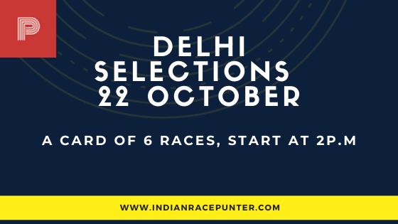 Delhi Race Selections 22 October