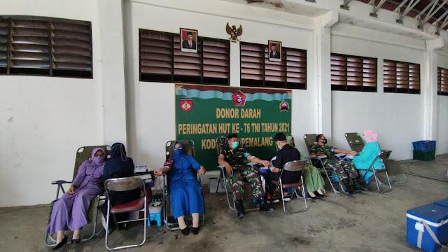 Sambut HUT TNI ke 76, Kodim Pemalang Menggelar Kegiatan Salah Satunya Ini
