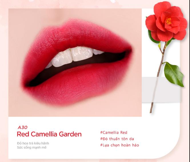 Màu A30 - Red Camellia Garden