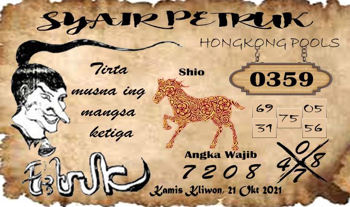 Petruk HK Kamis 21-10-2021