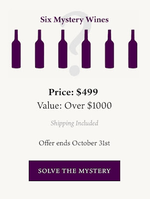 Six Mystery Wines for $499 and Free Shipping