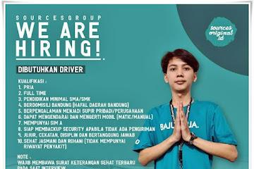 Loker Bandung Driver Sources Group