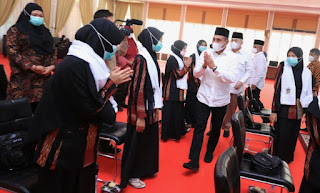Gubernur Edy Berangkatkan 20 Kafilah Sumut Ikuti STQ XXVI Maluku Utara