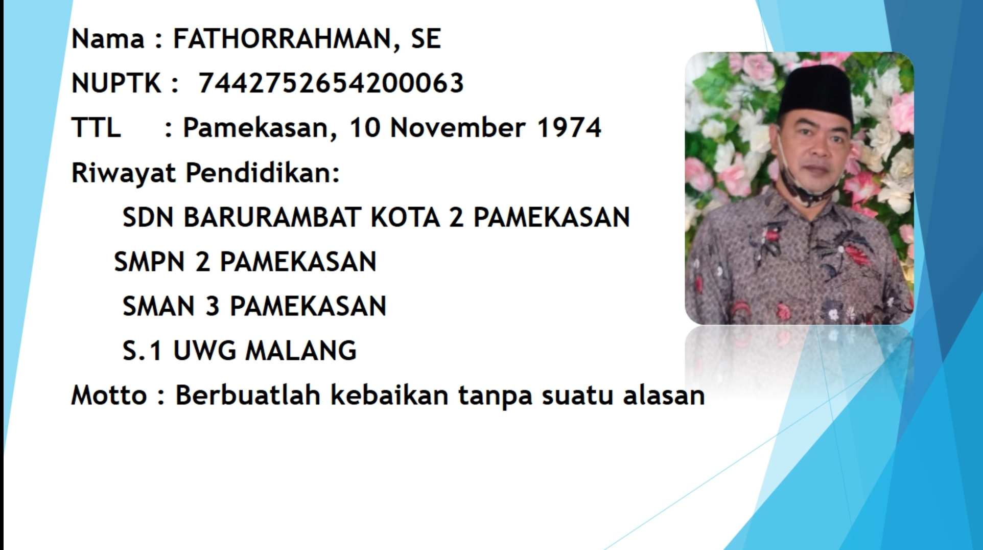 Fathorrahman, S.E