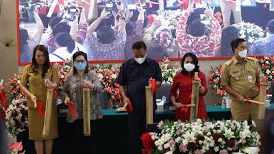 Menteri P3A Bintang Puspayoga Launching Tabungan dan Kredit Bohusami Perempuan Hebat