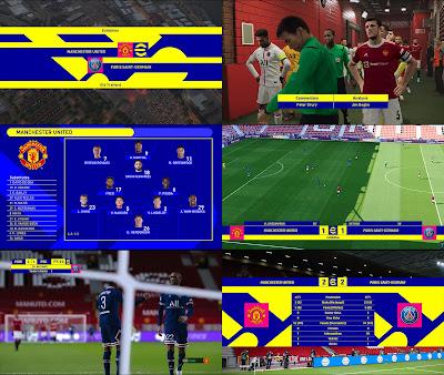 PES 2021 Scoreboard eFootball 2022 FINAL Version by Afandix
