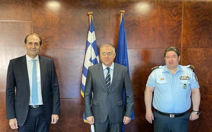 Στον υπουργός και στον αρχηγός της Αστυνομίας ο Α. Βεσυρόπουλος