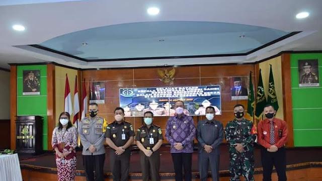 Bupati Sukandar Sambut Kunjungan Kerja Kejati Jambi di Kabupaten Tebo