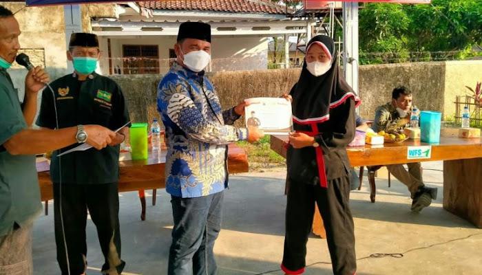 Wahrul Fauzi Sosialisasi Pembinaan Ideologi Pancasila Untuk Atlet Silat Lampung Selatan