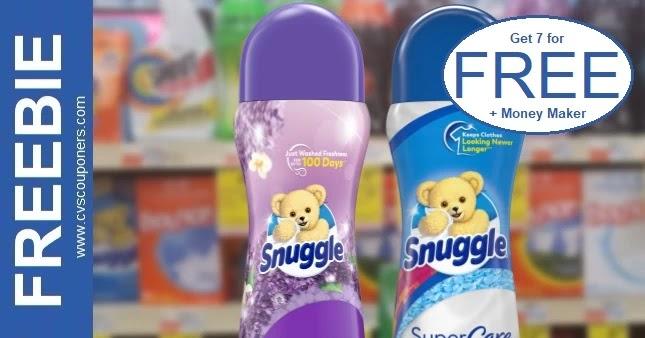 FREE Snuggle Scent Booster CVS Deals