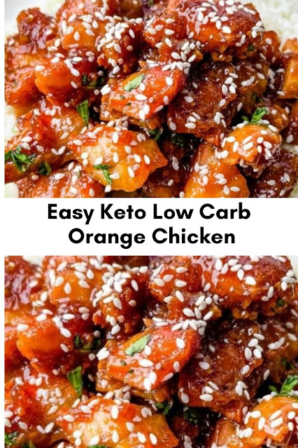 Easy Keto Low Carb Orange Chicken