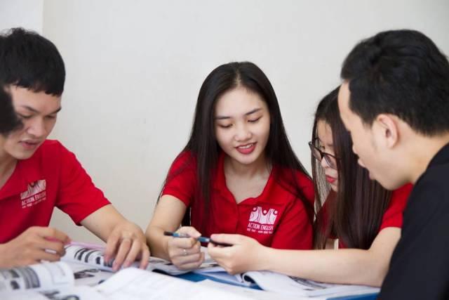 Học viên tại anh ngữ ACTION