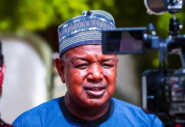 Abubakarng Abubakar Atiku Bagudu. :Nh: Daily Trust