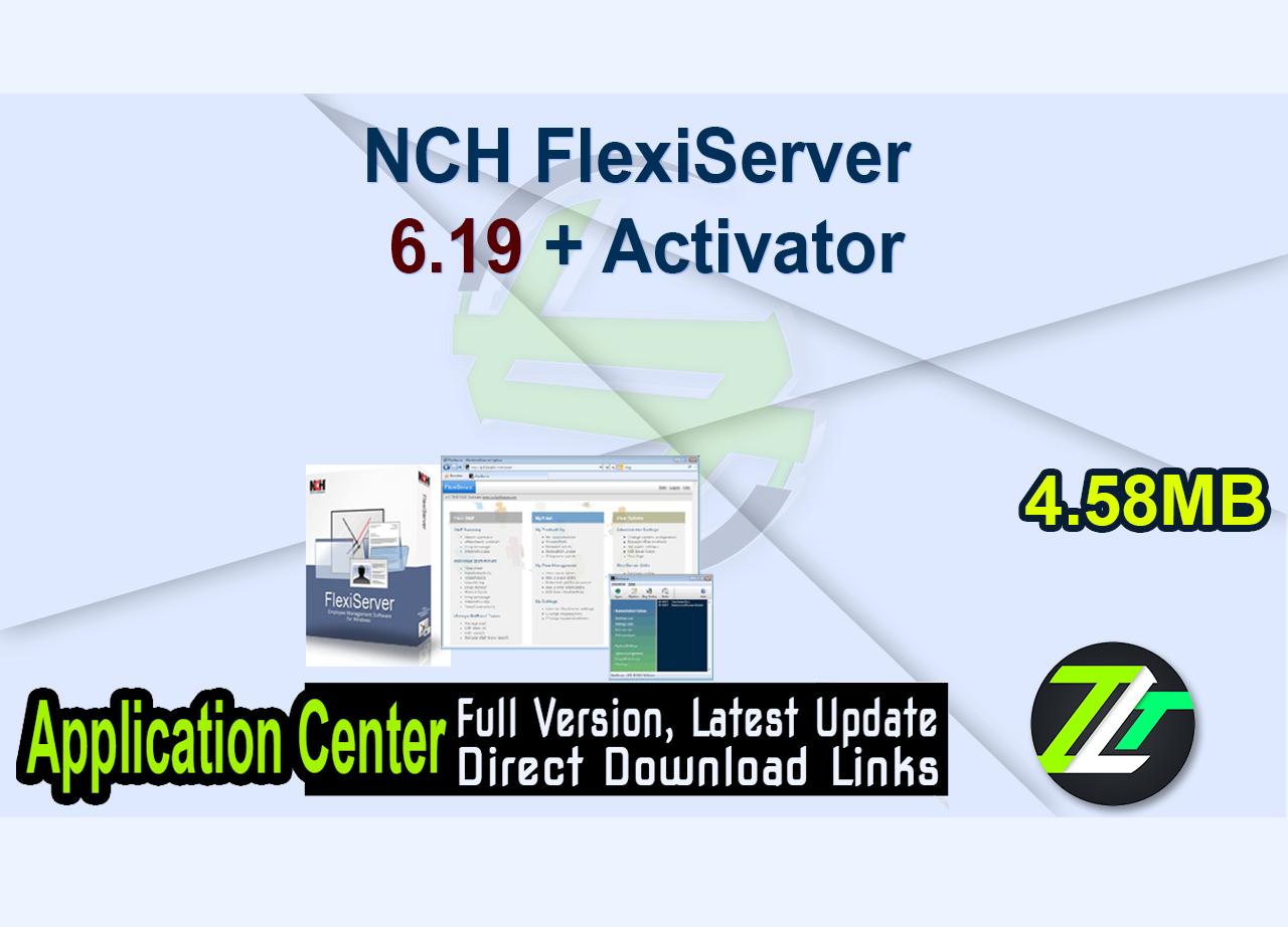 NCH FlexiServer 6.19 + Activator