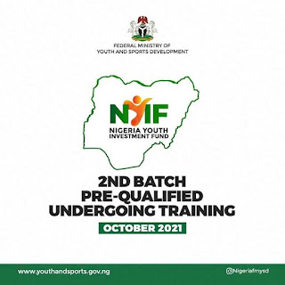 New Annoucement: NYIF, 10,000 youth shortlisted, await training and disbursement.