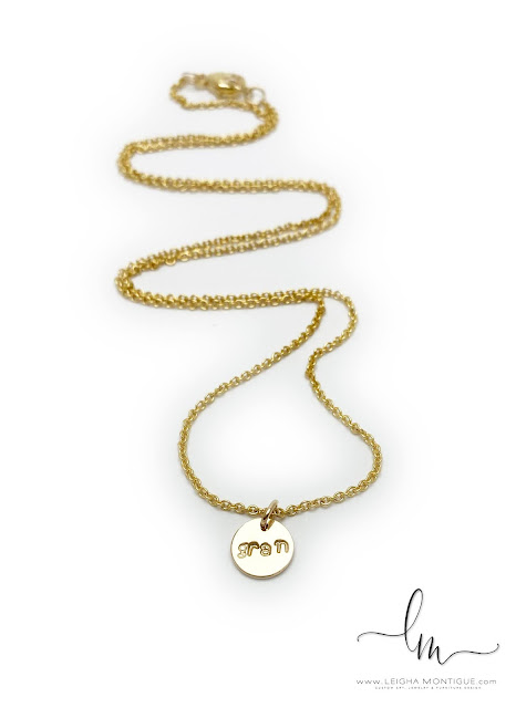 """Gold Gran Necklace - 22"""" shown"""