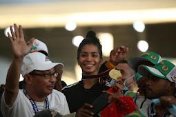 Atlet Atletik Maluku, Alvin Tehupelory Juarai Lari 400 Meter Gawang Putri