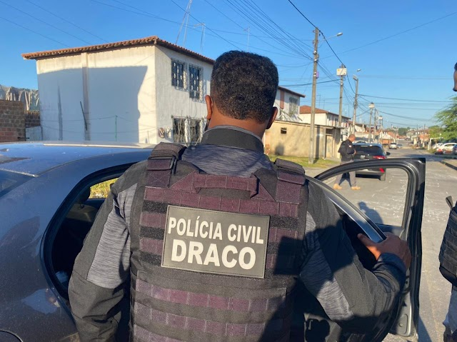 Líder do tráfico e mais dois são presos em Operação do Draco