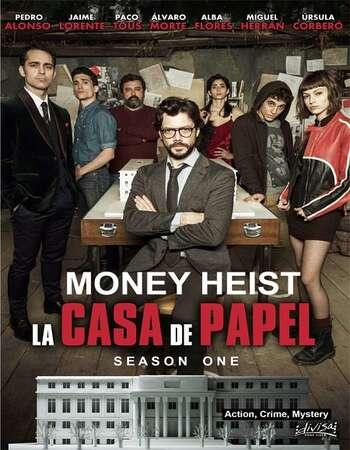 Money Heist (2017) HDRip Complete Hindi Netflix Web Series S01 Download