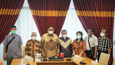 Sambangi Ketua DPRD Sumut, Pertuni Minta Rampungkan Perda Disabilitas