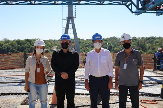 Prefeito destaca investimentos da União, Itaipu e do Governo do Paraná em Foz do Iguaçu