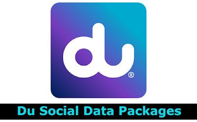 Du Social Data Packages Subscription & Unsub Code