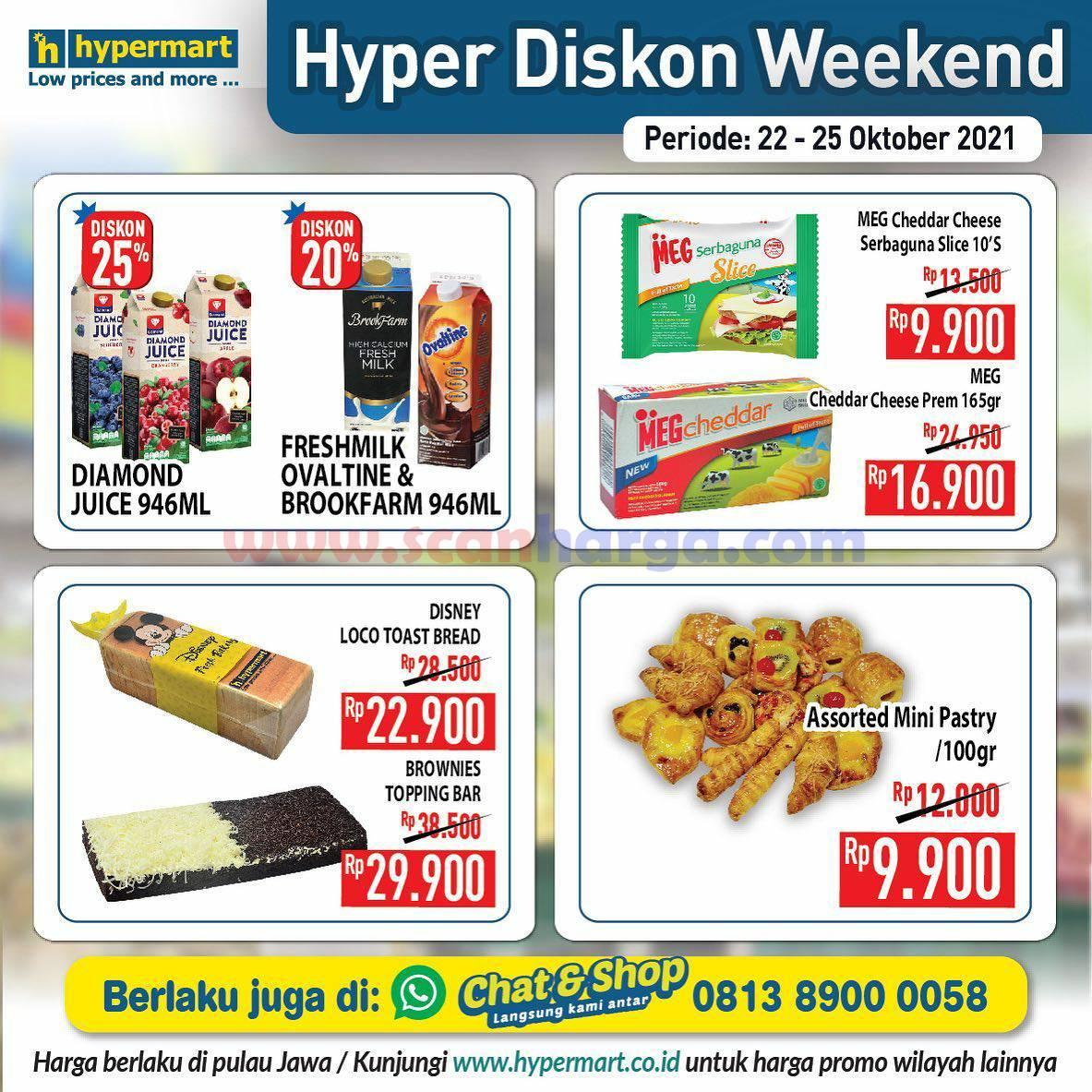 Promo Hypermart Weekend Terbaru 22 - 25 Oktober 2021 4