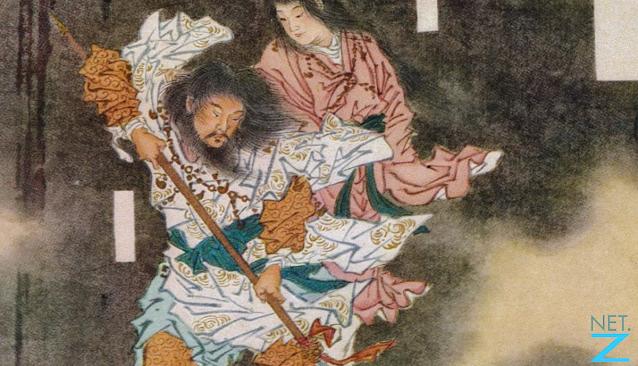Ilustrasi Izanagi dan Izanami