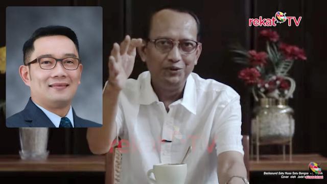 Eka Gumilar: Ini Alasan Logis Mendorong Ridwan Kamil 2024