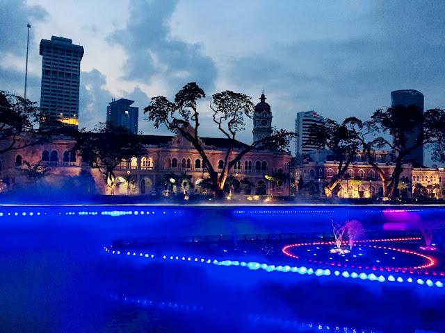 Kolam Biru In Evening (Kuala Lumpur)