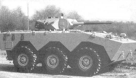 AMX-10RTT з баштою Драгар
