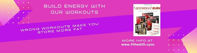 Build energy with our workouts