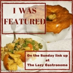 Scratch Made Food! & DIY Homemade Household is featured at What's For Dinner Sunday Link up.