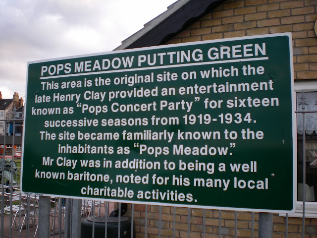 Pop's Meadow is a site of historical significance in the world of miniature golf as the game has been played there for many many years
